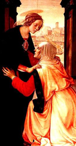 Isabel e Maria gravidas